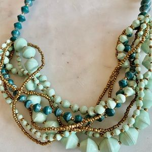 Cutest 31 bits Anthropologie necklace